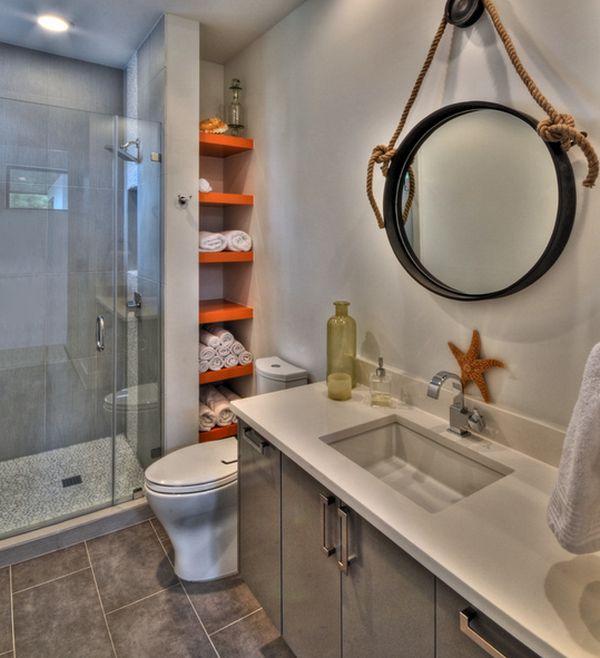 ιδέες για να οργανώσετε και να εκθέσετε τις πετσέτες στο μπάνιο σας13