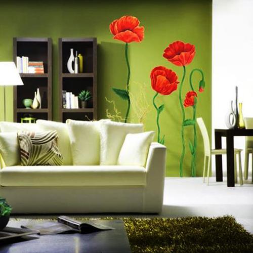 ιδέες με λουλούδια παπαρούνας στη διακόσμηση του σπιτιού σας5