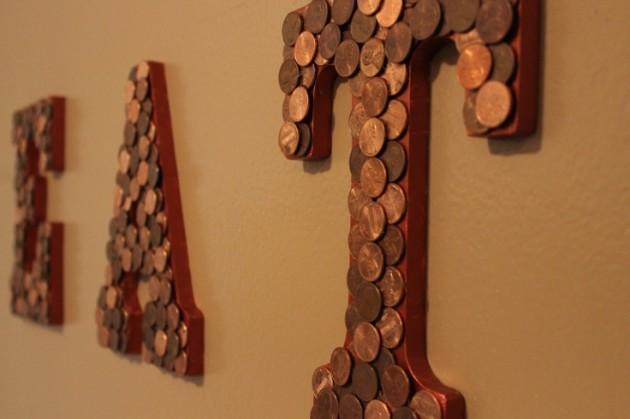 DIY Ιδέες από μικρά σε αξία κέρματα14