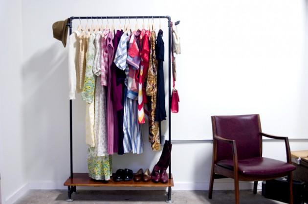DIY ιδέες αποθήκευσης ρούχων