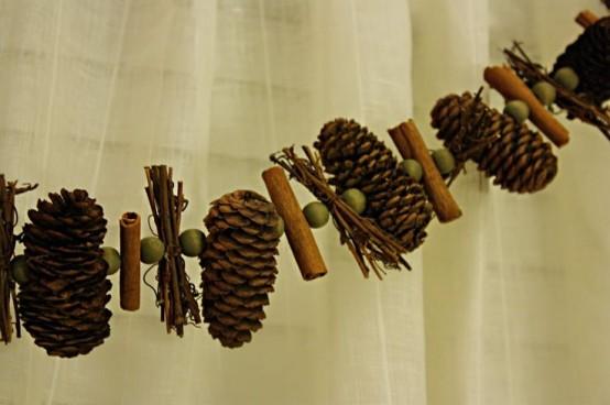 Υπέροχες Αρωματικές Ιδέες Χριστουγεννιάτικής Διακόσμησης με ραβδάκια κανέλας7