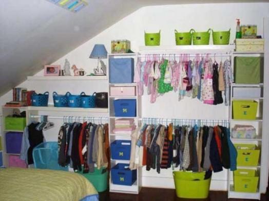 Ιδέες αποθήκευσης για παιδικά Δωμάτια7