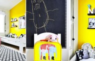 Φωτεινό και χαριτωμένο παιδικό δωμάτιο