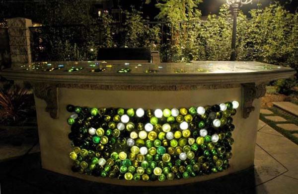 ιδέες για να ανακυκλώσετε μπουκάλια κρασιού