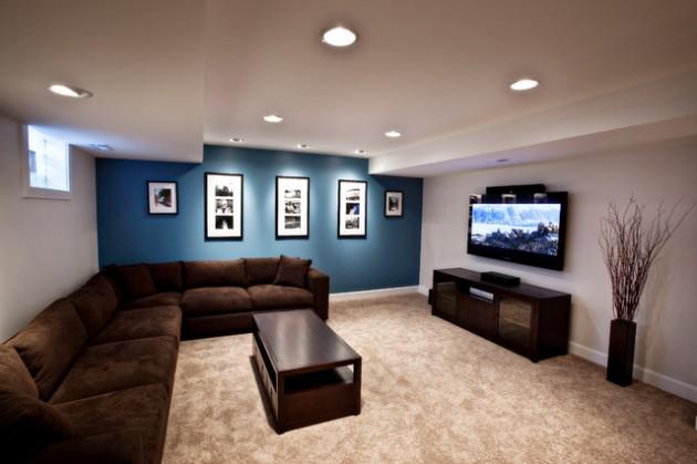 ιδέες  σχεδιασμού για να τονίσετε ένα τοίχο στο σαλόνι σας27