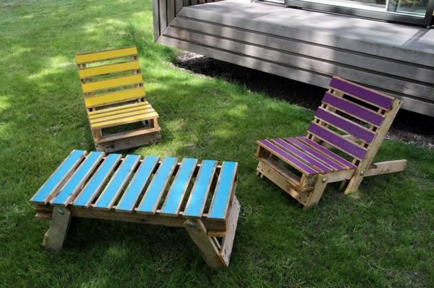 DIY Έργα Κήπου από ανακύκλωση ξύλου