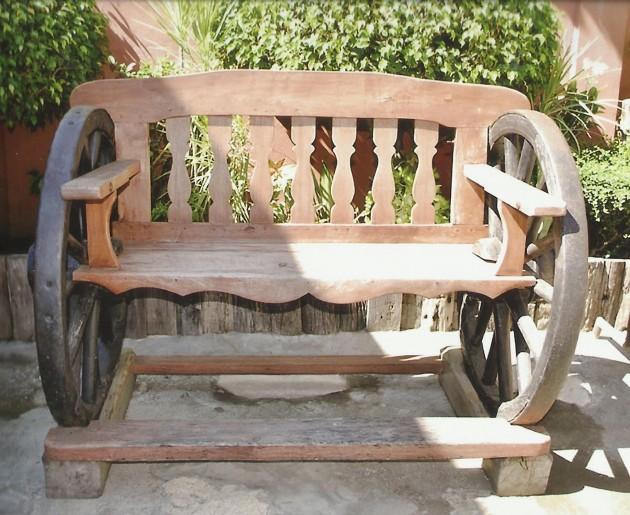 DIY Έργα Κήπου από ανακύκλωση ξύλου10