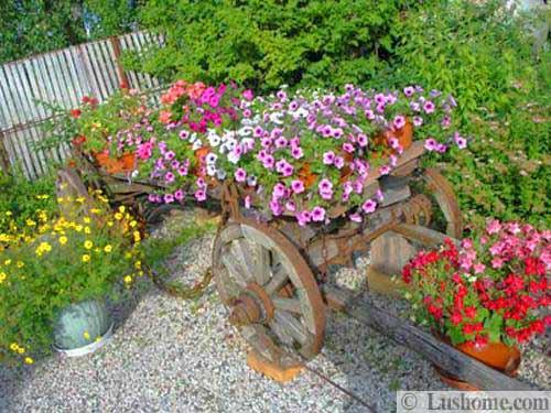 ασυνήθιστα δοχεία και γλάστρες για λουλούδια16