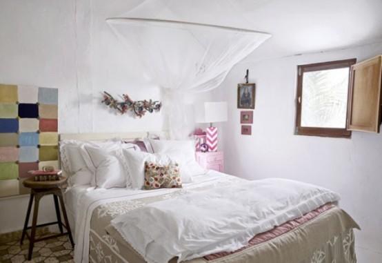 ιδέες με Κουνουπιέρες για την κρεβατοκάμαρά4