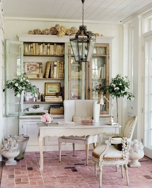 shabby chic διακόσμηση ιδέες24