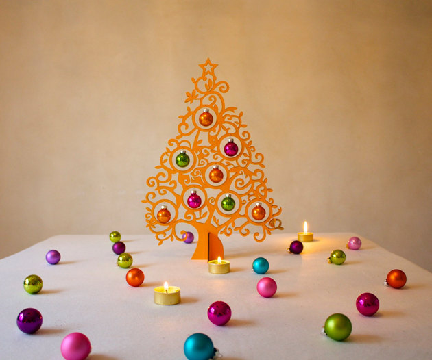 Επιτραπέζια χριστουγεννιάτικα δέντρα4