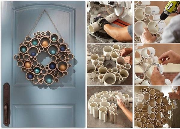 ιδέες με PVC σωλήνες για το σπίτι6