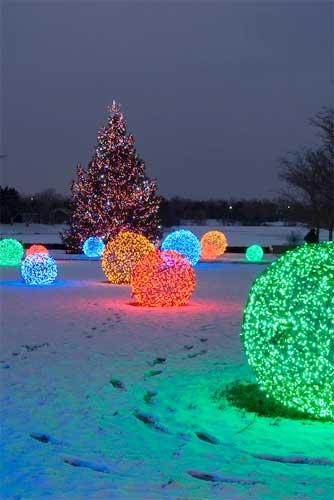 Diy Χριστουγεννιάτικες Φωτό Μπάλες13