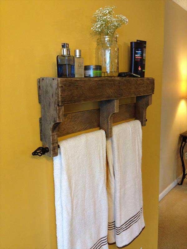DIY ιδέες οργάνωσης για τις πετσέτες του μπάνιου σας.3