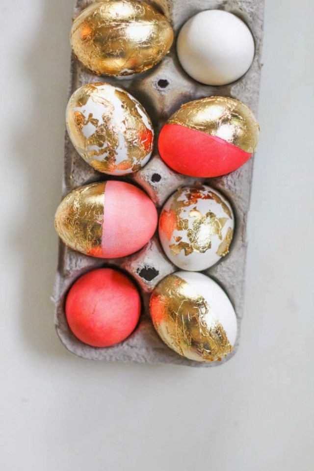 μοντέρνες ιδέες για Πασχαλινά αυγά1