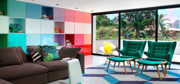 Ιδέες με μοντέρνα και φωτεινά χρώματα 7
