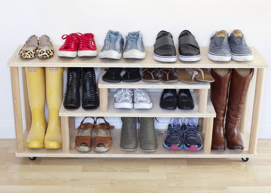 Δημιουργικοί τρόποι για να αποθηκεύσετε παπούτσια7