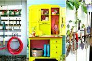 14 Eυφυείς και πρακτικές DIY λύσεις αποθηκευτικού χώρου για την αυλή και τον κήπο σας