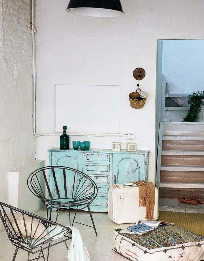 Vintage τόνοι και παστέλ χρώματα σε ένα απίθανο σπίτι στη Βαρκελώνη2