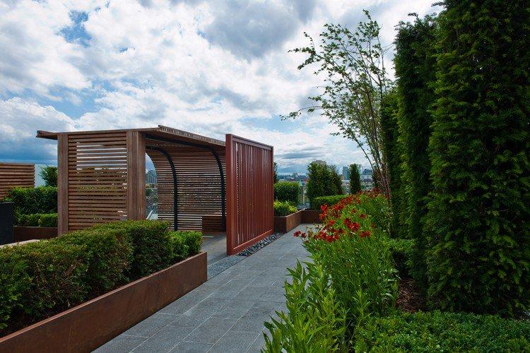 Κήπος στην ταράτσα ιδέες36