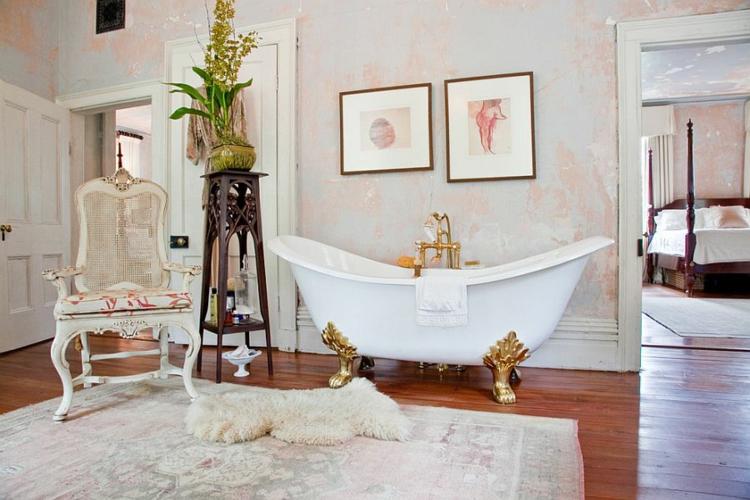 Shabby chic μπάνιο ιδέες47