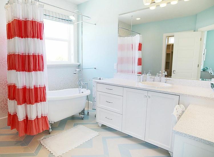 Shabby chic μπάνιο ιδέες5