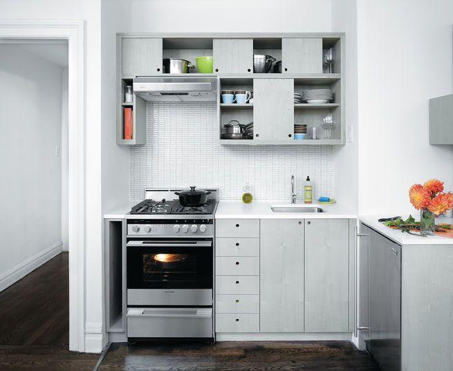Iδέες σχεδιασμού μικρής κουζίνας50