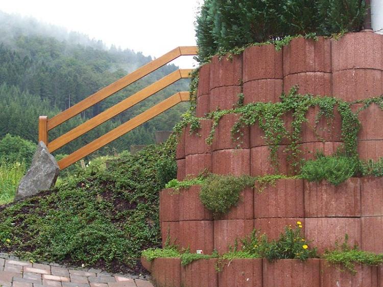 Μπετόν ζαρντινιέρες κήπου12