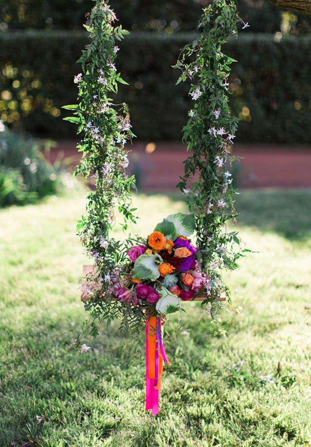 ιδέες διακόσμησης κούνιας με λουλούδια14