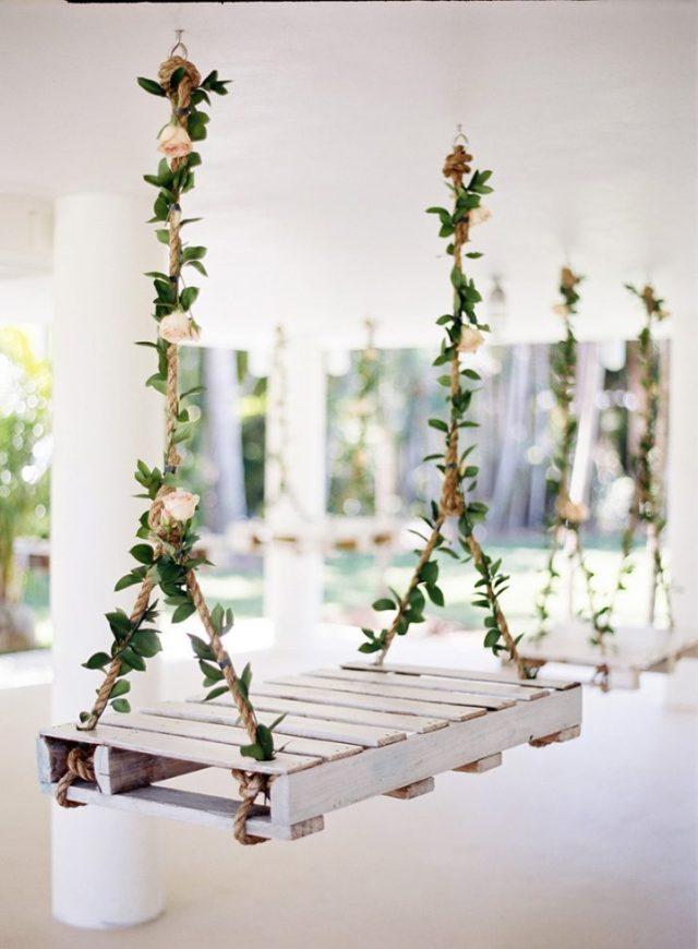 ιδέες διακόσμησης κούνιας με λουλούδια7
