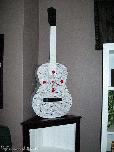 παλιές κιθάρες στη διακόσμηση του σπιτιού3