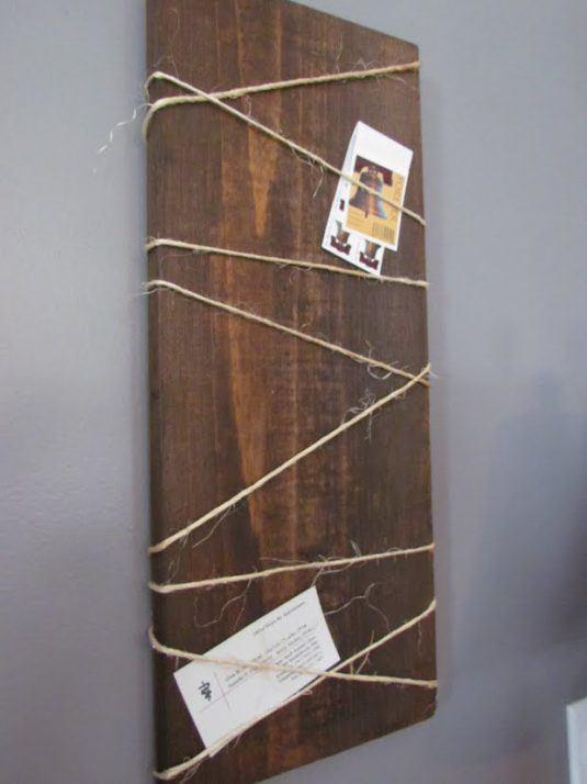 DIY Ρουστίκ έργα από ξύλο7