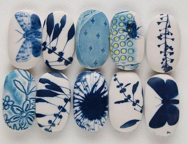 DIY ιδέες διακόσμησης με βαμμένες πέτρες και βότσαλα15