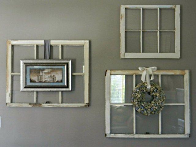 diy ιδέες από παλία παράθυρα19
