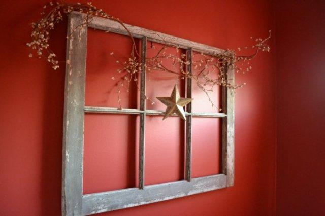 diy ιδέες από παλία παράθυρα7