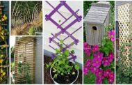 30 DIY ιδέες με καφασωτά για τον όμορφο κήπο σας