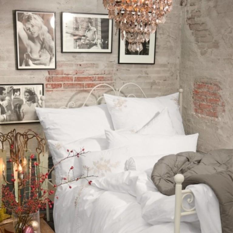 Ιδέες διακόσμησης για ένα τοίχο από τούβλα στο υπνοδωμάτιο και έναν τοίχο από τούβλα ως διακόσμηση