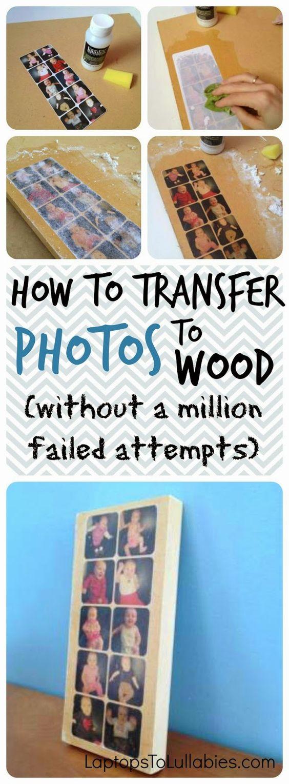 DIY ιδέες για να μεταφέρετε φωτογραφίες σε ξύλο7