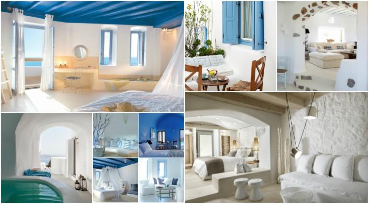 Υιοθετήστε την Ελληνική διακόσμηση στο σπίτι σας για να δημιουργήσετε ένα θαλάσσιο παράδεισο