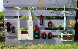 Ιδέες με παλέτες για δημιουργικούς και εντυπωσιακούς κήπους