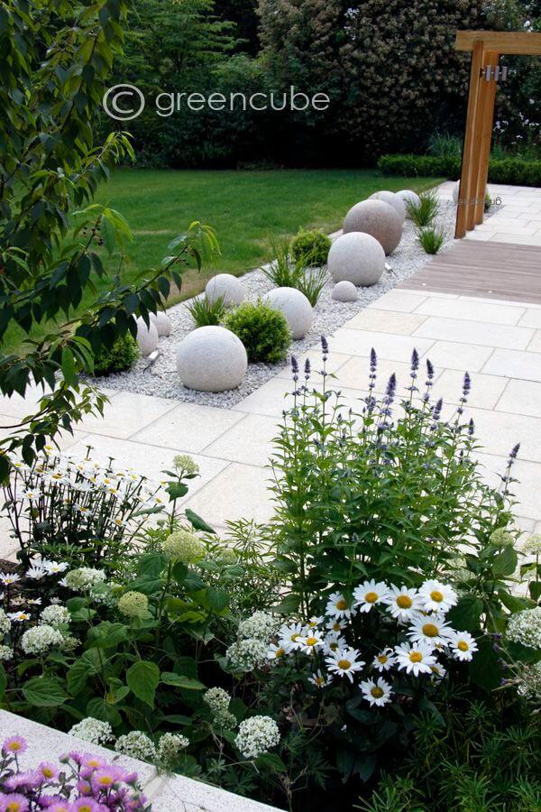 ιδέες σχεδιασμού μπροστινού κήπου και αυλής18