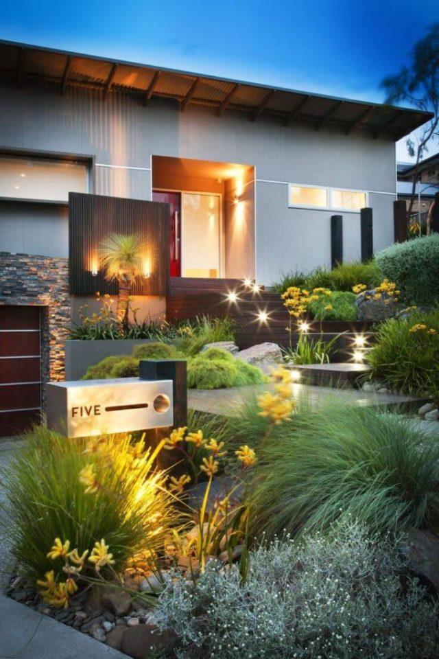 ιδέες σχεδιασμού μπροστινού κήπου και αυλής21