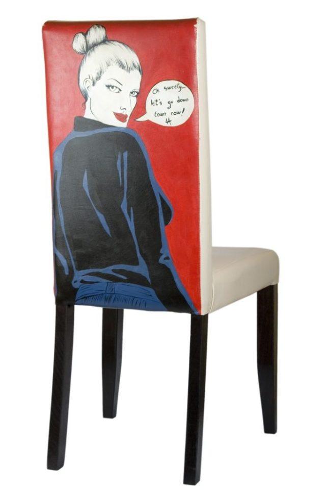 πώς να διακοσμήσετε και να βάψετε παλιές καρέκλες31