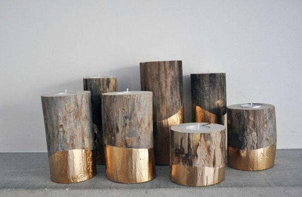 DIY ιδέες διακοσμήσης από κούτσουρα12