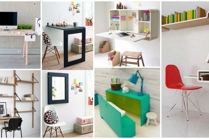 Γραφεία εξοικονόμησης χώρου - ιδέες που θα ελευθερώσουν το χώρο σας