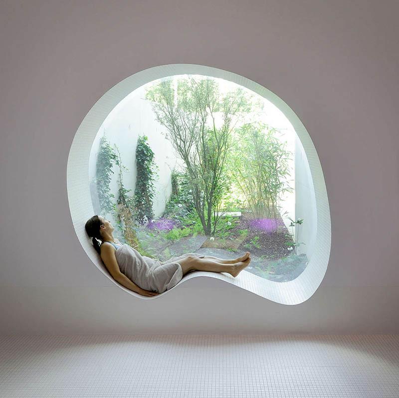 Στρογγυλά παράθυρα για ένα σπίτι πιο όμορφο