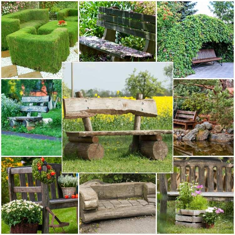 60 Συναρπαστικές ιδέες για να επιλέξετε το ιδανικό παγκάκι για τον κήπο σας