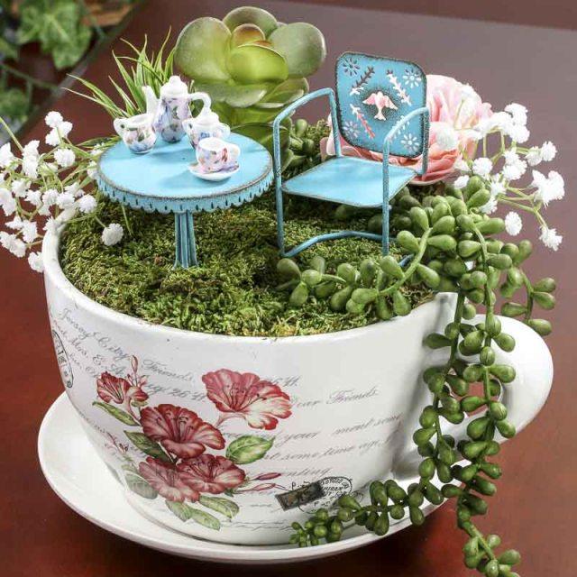 Diy μικροσκοπικοί κήποι10