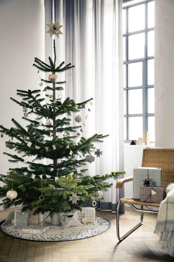 Σκανδιναβικό Χριστουγεννιάτικο δέντρο10