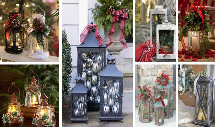 Απίστευτες DIY ιδέες με φαναράκια που θα φωτίσουν τα Χριστούγεννα σας